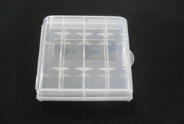 Wholesale box case aa - Hard Plastic Case Holder Storage Box AA AAA Battery batteries Portable