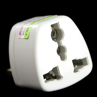 adaptadores de corrente alternada usados venda por atacado-Padrão do REINO UNIDO, AC / US ao conversor do plugue do adaptador do adaptador BRITÂNICO do conversor para o uso do curso