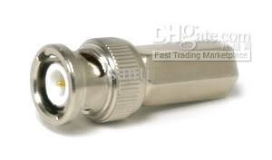 TWIST ON TO MALE BNC CONNECTORS connecter RG 59 COAXIAL for CATV system CCTV camera surveillance