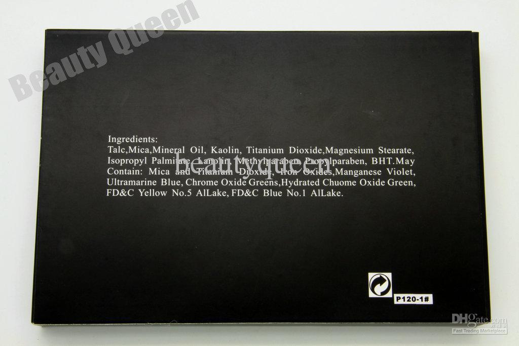 Gute Qualität!! Neuer Fachmann 120 Farben-Augenschatten-Augenschminkepaletten-Verfassungs-Kosmetik-Installationssatz P120 # 01 HEISSER VERKAUF