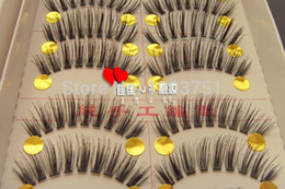 Drop Shipping False Cils Pas Cher-Gros-main belle 50 Paire long et épais faux cils cils cils drop ship Maquillage Volumineux