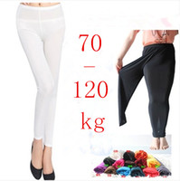 Wholesale Plus Size Summer Candy Color Thin Ankle Length Legging Pants High Waist Skinny Leggings For Women