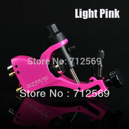 Wholesale Stigma Kit - Wholesale-New rotary tattoo machine Stigma Bizarre V2 Light pink high quality tattoo machines free shipping