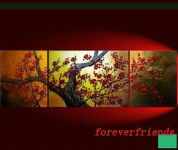 Wholesale Framed Asian Art - BEAUTIFUL ORIGINAL Asian Blossom Abstract Zen Art Pain h011