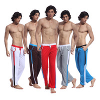 Wholesale Dropshipping Underwear Men - Wholesale-NEW Casual Pants Men's Sports Jogger Long Pants Underwear Rope Trousers S M L XL Free Shipping Dropshipping SL00452