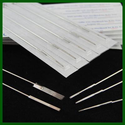 top popular 1000 PCS Round Liner Round Shader Flat Shader Sterile Disposable Needles Tattoo Needles Assorted Size Tattoo Supplies Free Shipping 2020
