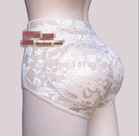 Wholesale Panty Enhancer - Wholesale-Casual Sexy Panty Knickers Buttock Backside sponge Bum Padded Butt Enhancer Hip Up Underwear F-0275