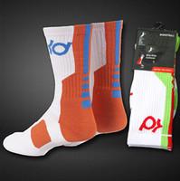 Wholesale Custom Basketball Socks - Wholesale- New Custom Elite Socks Real Men Basketball Socks Mens Basketball KD Socks Elite Medias Men Deodorant For Men Dropshipping