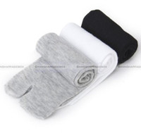 Wholesale Japanese Over Knee Socks - Wholesale-Shanghaimagicbox 3 Pairs Japanese Style Kimono Flip Flop Sandal Split Toe Tabi Ninja Socks 21114303