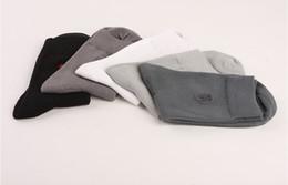 Chaussettes en coton pur Spring Socks Men Brand Chaussettes pour hommes, 10 pièces = 5 paires en Solde