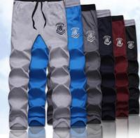 Wholesale Elastic Waist Jumpsuit - Wholesale-20154new mens pants hip hop sports wear slim fit jumpsuit men british style sweatpants trousers man