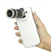 Wholesale Note2 Camera Zoom - Wholesale-8X Zoom Telescope Camera Lens for galaxy note2 free shipping