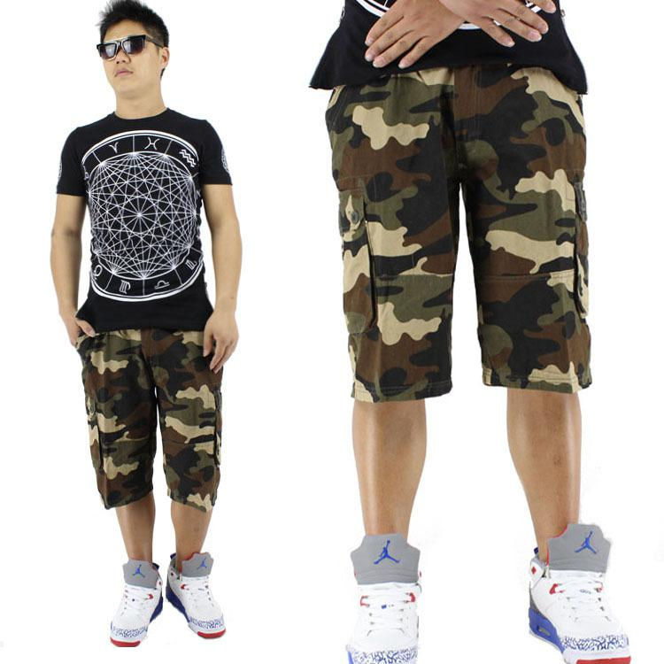 2017 Wholesale Denim Shorts Basketball Running Camouflage Shorts ...