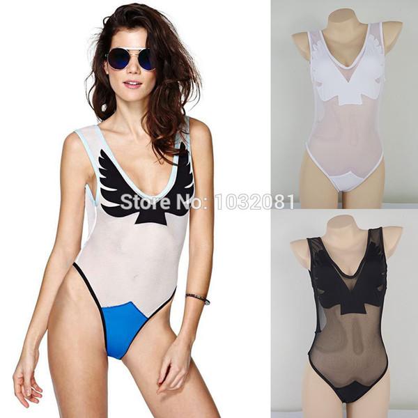Wholesale-2015 spitze mesh sheer sexy dessous body 1 badebekleidung badeanzug badeanzug strand biquini maillot de bain V75
