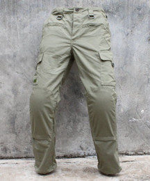 Wholesale Tmc Tactical Pants - Wholesale-TMC Cargo10 Tactical Pants with inside Pads ( RG ) combat Hunting Camping Pants