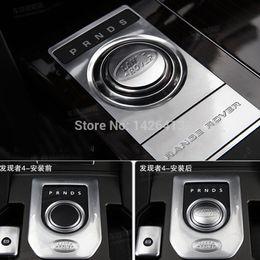 All'ingrosso-auto Chrome Gear Cover Shift Knob Adesivi per Range Rover Evoque Car Accessory supplier range rover stickers da adesivi rover fornitori