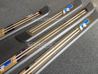 Wholesale Touareg Sill - Wholesale-Stainless Scuff Plate Door Sill Trim For VW Touareg 2011-2015