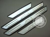 ingrosso piastre di scarico kia-All'ingrosso-libero 2010-2015 KIA ANIMA di alta qualità in acciaio inox Scuff Plate / Door Sill