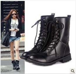d7436ef0094 botas negras cordones mujer