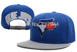 Wholesale Toronto Blue Jays Hats Cheap - Wholesale-New arrival TORONTO BLUE JAYS &DODGERS&WHITE SOX Cheap men's most popular Adjustable sports hats Freeshipping