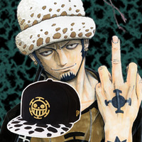Wholesale- Cartoon Anime One Piece Trafalgar Law Hat Male Hat...