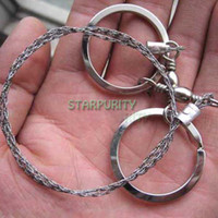 Wholesale Emergency Survival Gear Stainless Steel Wire Saw Tools Kits Equipment for Camping Hiking Hunting Climbing