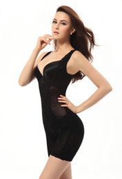 corset bamboo slim suit Promo Codes - Wholesale-Women Body Shape Wear Slimming Suit Slim Shape Wear Bamboo Intimate Corset Bustier Body Shaper Wholesales Bustier
