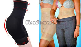 Venta al por mayor-excelente! Body Shaper Pants Sexy Beauty Slimming Shapewear Fat Burning Body de forma delgada 30