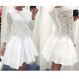 Wholesale Evening Dress Lace New - Wholesale-Free Shipping 100% New Style Women Sexy Lace Long Sleeve Causal Bodycon Evening Party Dress K5BO
