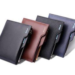 Wholesale Cowskin Leather Wallets - Wholesale-SOUF Men's Wallet + Cowskin Male Genuine Leather Wallet