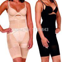 Wholesale Spanx Body Shapewear - Wholesale-Hot SaleHot SaleFashionLady Slim Burn Fat Spanx Shapewear Tummy Slim Bodysuit Full Body ShaperFree Shipping