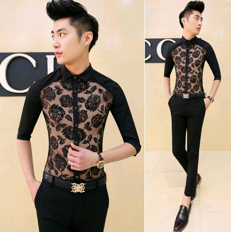 2018 wholesale 2015 korean fashion british brand men dress for Bulk mens dress shirts