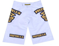 Wholesale Brazilian Art - Wholesale-Pretorian Fight Shorts Sport Trunks MMA For Men Muay Thai Shorts Boxing Wear For Martial Arts Brazilian Jiu Jitsu Sanda Shorts