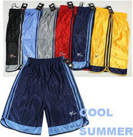 Wholesale Low Price Basketball Wholesale - Wholesale-Free Shipping Sports Shorts Good Quality Low Price Football Shorts Basketball Shorts 3pc Lot