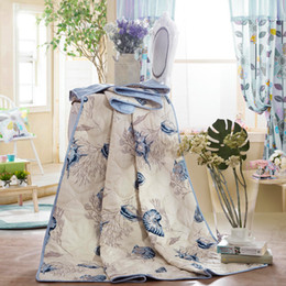 Wholesale Coverlet Kids - Wholesale-KOSMOS handmade quilted bedspread kids bedding thin summer quilt brand comforter duvet and coverlet