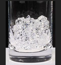 2019 acryl vase großhandel Wholesale-180pcs KLAR Acryl Kristall Rock Eis Konfetti Tischstreu Vase Füllstoff Hochzeit - 25 * 18MM Zwölf-Punkte-Stern günstig acryl vase großhandel