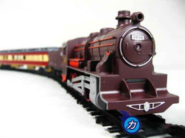 Wholesale High Quality Electric Train - Wholesale -High Quality Electric Train toy 7M TRACK 5pcs