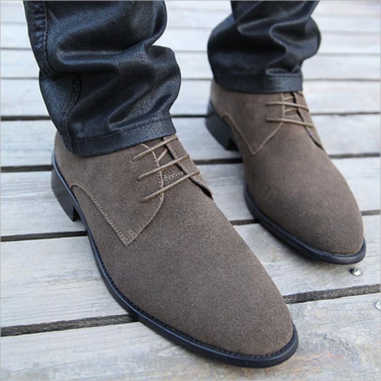 Wholesale New 2015 Men Business Shoes Russian Style