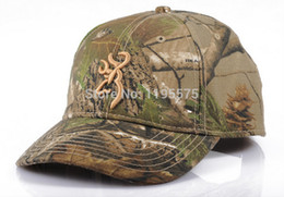 Wholesale Camouflage Caps Hunting - Wholesale-2015 New Baseball Cap Hunting Camo Camouflage Carp Fishing Paintball Airsoft Military Sun Clothes