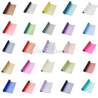 Wholesale Organza Fabric 29cm - Wholesale-25M x 29CM Multicolors Organza Roll Sheer DIY Fabric Craft For Wedding Christmas Party Package Decoration Supply