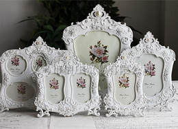 """Wholesale European Resin Photo Frames - Wholesale-High Quality European Style Vintage 10Inch(8""""x10"""") Classical Resin Home Decorative Photo Picture Frame Wedding."""