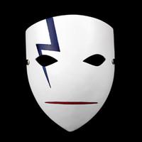Wholesale Darker Black Cosplay - Wholesale-Movie Theme Japanese Mascara Party Masks Anime Smile Hei Lee Cosplay Hallowmas Darker Than Black Resin Thunder Ghost Mask BK201