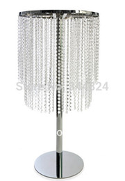 Wholesale Usa Ornament - Wholesale-Free shipment USA AU  WEurope -12 PCS wedding crystal table centerpiece
