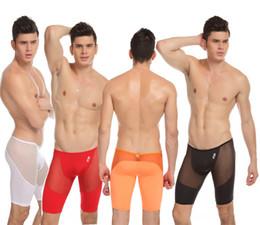 $enCountryForm.capitalKeyWord Canada - Wholesale-Fashion Mens Comfy Sexy See-Through Briefs Men Solid Color Shaping Pants Underwear Free Shipping JQK-319