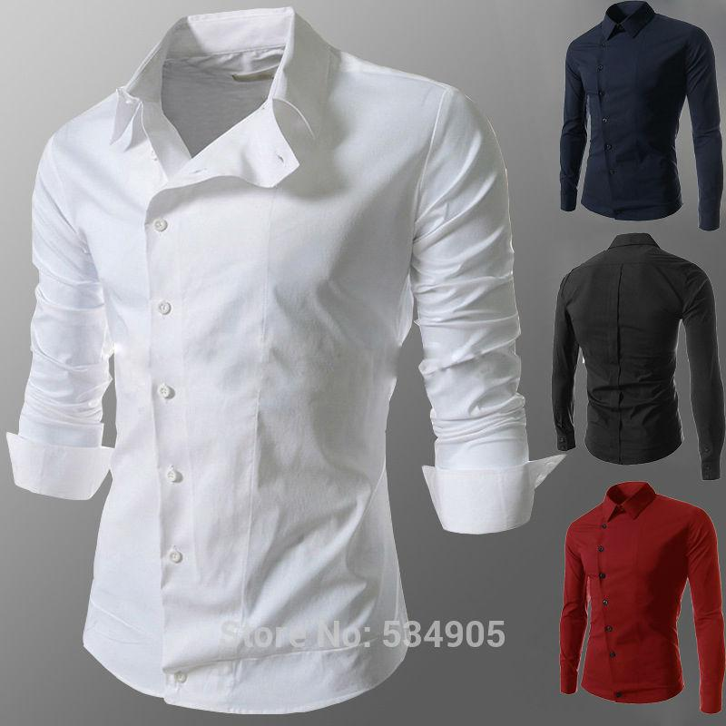 2017 Wholesale 2015 Spring Fashion New Casual Shirts Men,Korean ...