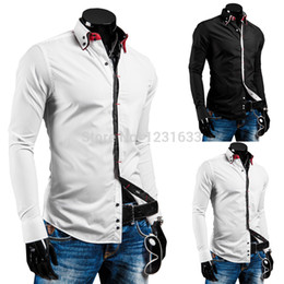 Discount Mens Designer Button Down Shirts | 2017 Mens Designer ...
