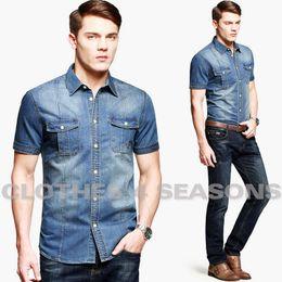 Stylish Men Denim Shirt Suppliers | Best Stylish Men Denim Shirt ...