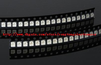[] SMD SMT PLCC-2 1210 3528 Blue LED light lamp -Blue color