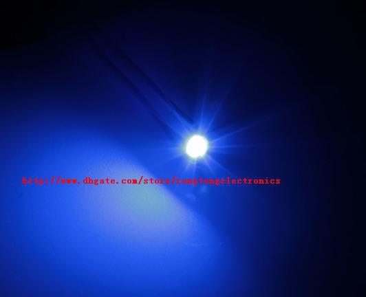[2000PCS/LOT] 1000 pcs SMD SMT PLCC-2 1210 3528 Blue LED light lamp -Blue color