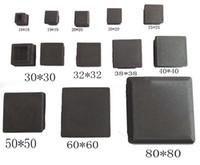 Wholesale Square Leg Table - Wholesale-Series#SQ1&Square Tube Inserting Ends leg cap,Blank tube pipe ending,table feet cap plug 13,15,16,19,20,22,25,30,32,35,38